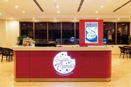 sugar mama's店頭