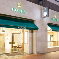 ROLEX店頭